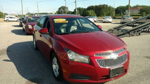2011 Chevrolet Cruze for sale at Kelly & Kelly Supermarket of Cars in Fayetteville NC
