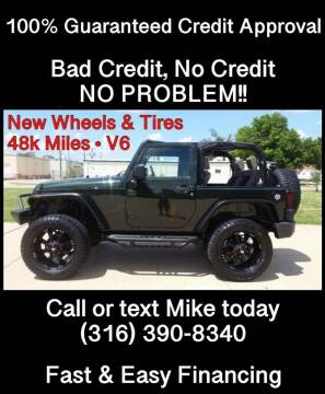 2010 Jeep Wrangler for sale at Affordable Mobility Solutions, LLC - Standard Vehicles in Wichita KS