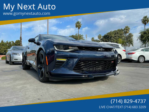 2016 Chevrolet Camaro for sale at My Next Auto in Anaheim CA