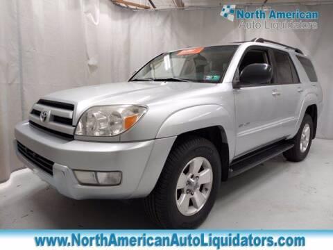 2004 Toyota 4Runner for sale at North American Auto Liquidators in Essington PA