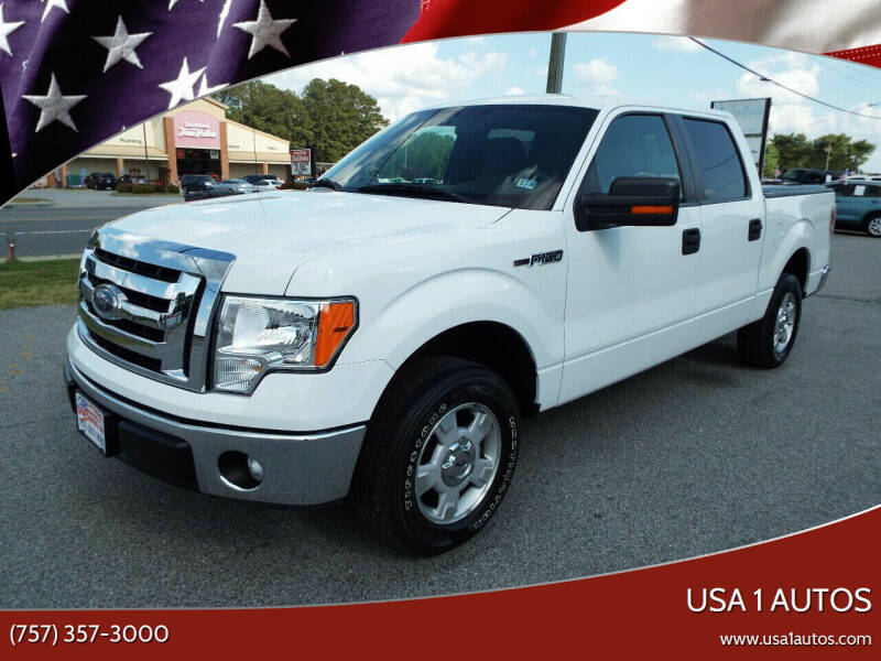 2011 Ford F-150 for sale at USA 1 Autos in Smithfield VA