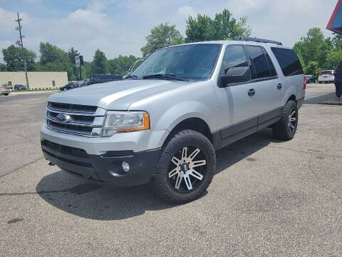 2017 Ford Expedition EL for sale at Cruisin' Auto Sales in Madison IN
