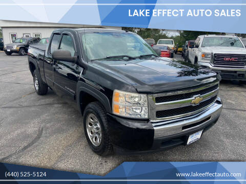 2009 Chevrolet Silverado 1500 for sale at Lake Effect Auto Sales in Chardon OH