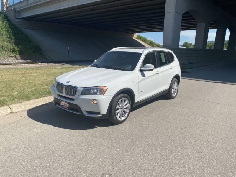 2012 BMW X3 for sale at Apple Auto in La Crescent MN