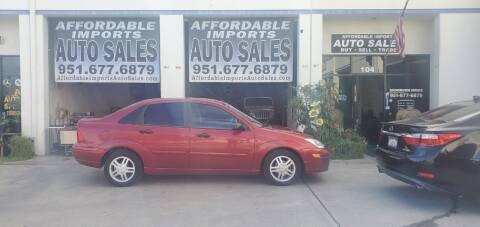 2002 Ford Focus for sale at Affordable Imports Auto Sales in Murrieta CA