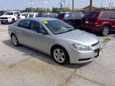 2010 Chevrolet Malibu for sale at Regency Motors Inc in Davenport IA