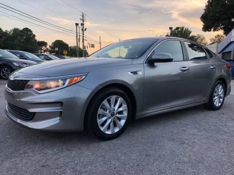 2017 Kia Optima for sale at Capital Motors in Raleigh NC