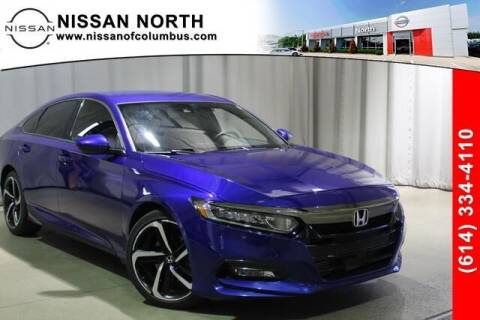 2018 Honda Accord for sale at Auto Center of Columbus in Columbus OH