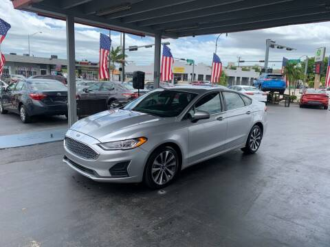 2019 Ford Fusion for sale at American Auto Sales in Hialeah FL