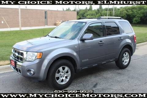 2008 Ford Escape for sale at Your Choice Autos - My Choice Motors in Elmhurst IL