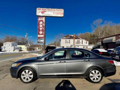 2008 Honda Accord for sale at 401 Auto Sales & Service in Smithfield RI