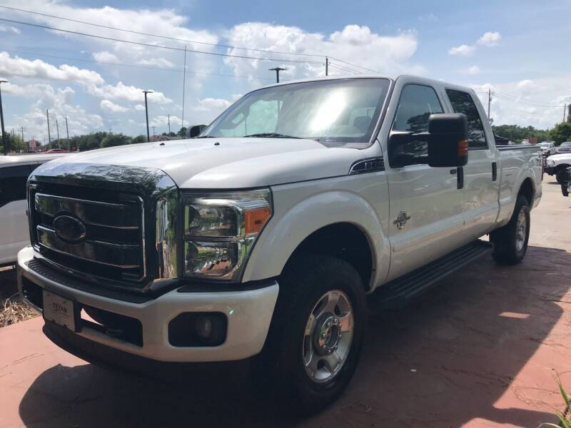 2012 Ford F-250 Super Duty for sale at Texas Truck Sales in Dickinson TX