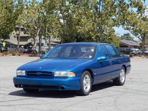1996 Chevrolet Impala for sale at Crow`s Auto Sales in San Jose CA