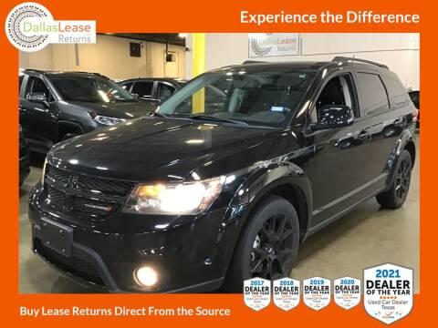 2018 Dodge Journey for sale at Dallas Auto Finance in Dallas TX