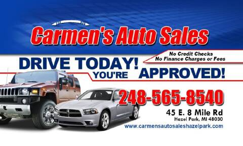 2013 Chrysler 200 for sale at Carmen's Auto Sales in Hazel Park MI