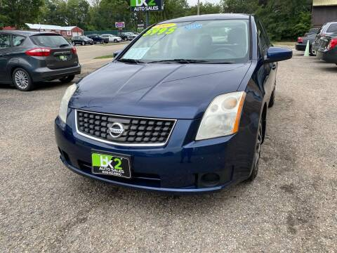 2007 Nissan Sentra for sale at BK2 Auto Sales in Beloit WI