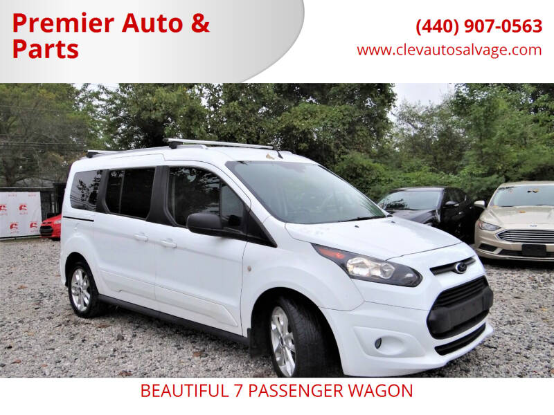 2015 Ford Transit Connect Wagon for sale at Premier Auto & Parts in Elyria OH