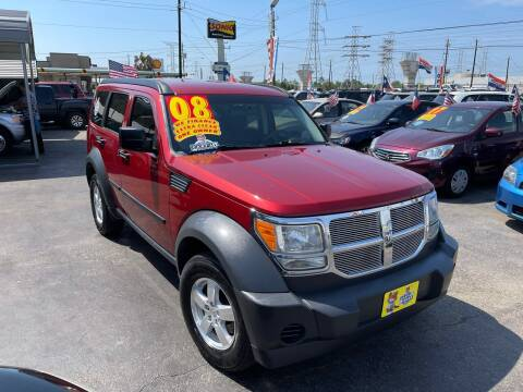 2008 Dodge Nitro for sale at Texas 1 Auto Finance in Kemah TX