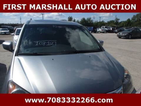 2010 Honda Odyssey for sale at First Marshall Auto Auction in Harvey IL