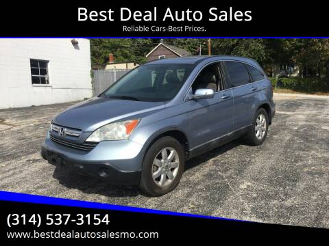 2008 Honda CR-V for sale at Best Deal Auto Sales in Saint Charles MO