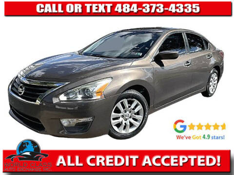 2013 Nissan Altima for sale at World Class Auto Exchange in Lansdowne PA