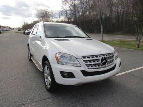 2011 Mercedes-Benz M-Class for sale at Pristine Auto Sales in Monroe NC