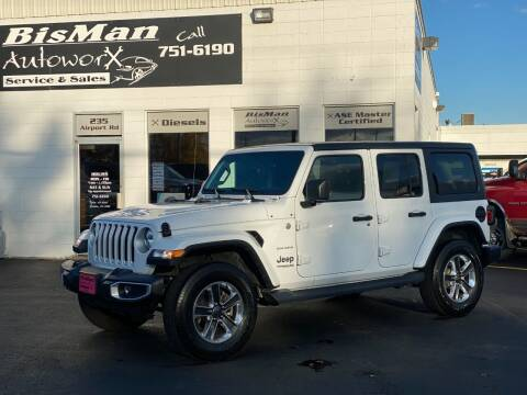 2020 Jeep Wrangler Unlimited for sale at BISMAN AUTOWORX INC in Bismarck ND