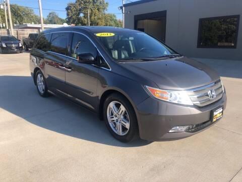 2013 Honda Odyssey for sale at Tigerland Motors in Sedalia MO