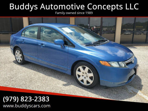 2007 Honda Civic for sale at Buddys Automotive Concepts LLC in Bryan TX