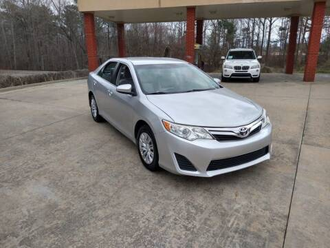 2012 Toyota Camry for sale at A&Q Auto Sales in Gainesville GA