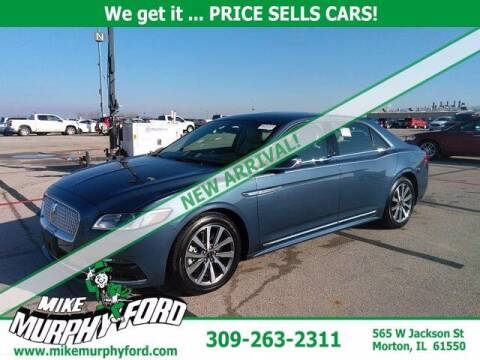 2018 Lincoln Continental for sale at Mike Murphy Ford in Morton IL