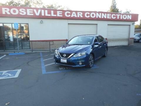 2017 Nissan Sentra for sale at ROSEVILLE CAR CONNECTION in Roseville CA