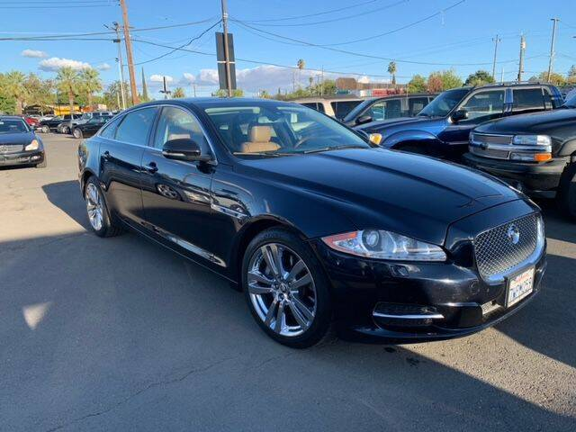 2012 Jaguar XJL for sale at Dealer Finance Auto Center LLC in Sacramento CA