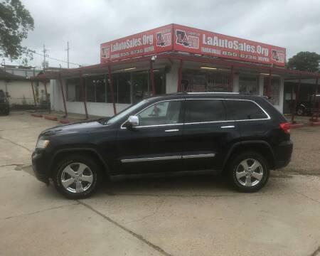 2011 Jeep Grand Cherokee for sale at LA Auto Sales in Monroe LA