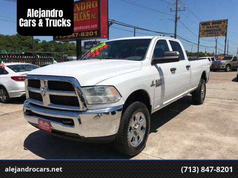2014 RAM Ram Pickup 2500 for sale at Alejandro Cars & Trucks in Houston TX