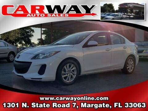 2012 Mazda MAZDA3 for sale at CARWAY Auto Sales in Margate FL