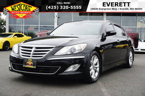 2013 Hyundai Genesis for sale at West Coast Auto Works in Edmonds WA