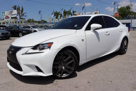 2016 Lexus IS 200t for sale at OCEAN AUTO SALES in Miami FL