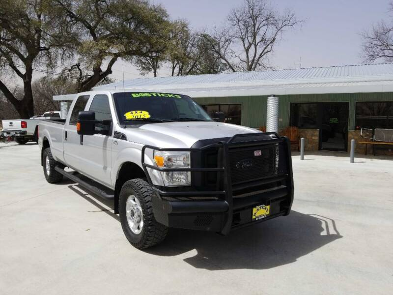 2015 Ford F-350 Super Duty for sale at Bostick's Auto & Truck Sales in Brownwood TX