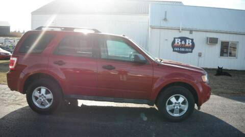 2010 Ford Escape for sale at B & B Sales 1 in Decorah IA