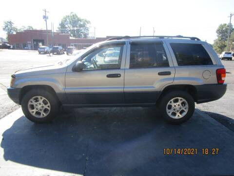 1999 Jeep Grand Cherokee for sale at Taylorsville Auto Mart in Taylorsville NC