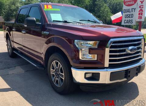2015 Ford F-150 for sale at VSA MotorCars in Cypress TX