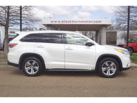 2015 Toyota Highlander for sale at BLACKBURN MOTOR CO in Vicksburg MS