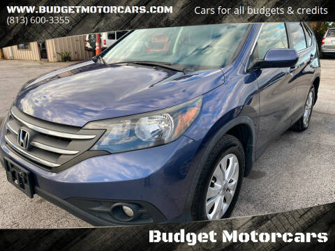 2013 Honda CR-V for sale at Budget Motorcars in Tampa FL