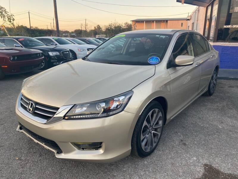 2015 Honda Accord for sale at Cow Boys Auto Sales LLC in Garland TX