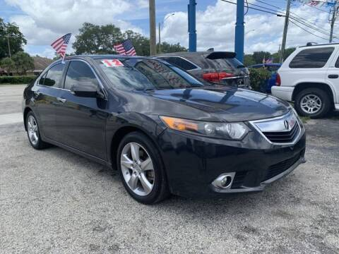 2012 Acura TSX for sale at AUTO PROVIDER in Fort Lauderdale FL