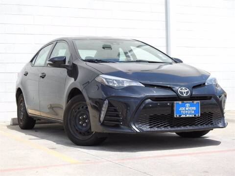 2017 Toyota Corolla for sale at Joe Myers Toyota PreOwned in Houston TX