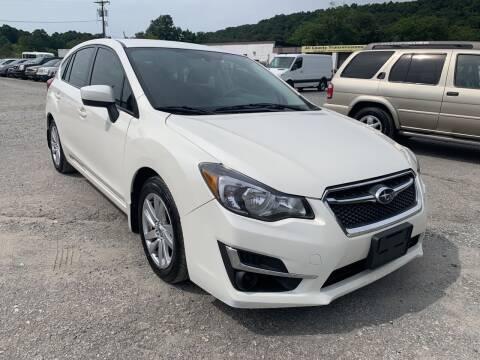 2016 Subaru Impreza for sale at Ron Motor Inc. in Wantage NJ