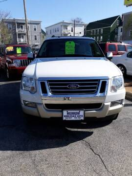 2009 Ford Explorer for sale at MERROW WHOLESALE AUTO in Manchester NH