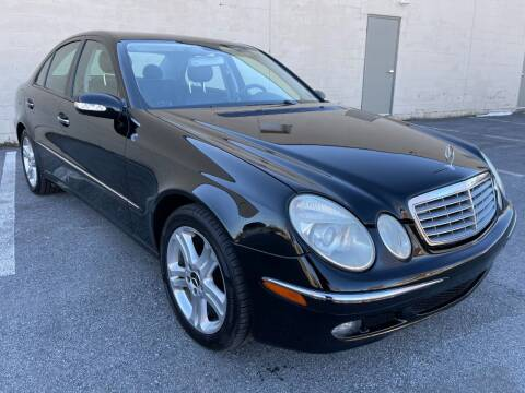 2005 Mercedes-Benz E-Class for sale at CROSSROADS AUTO SALES in West Chester PA